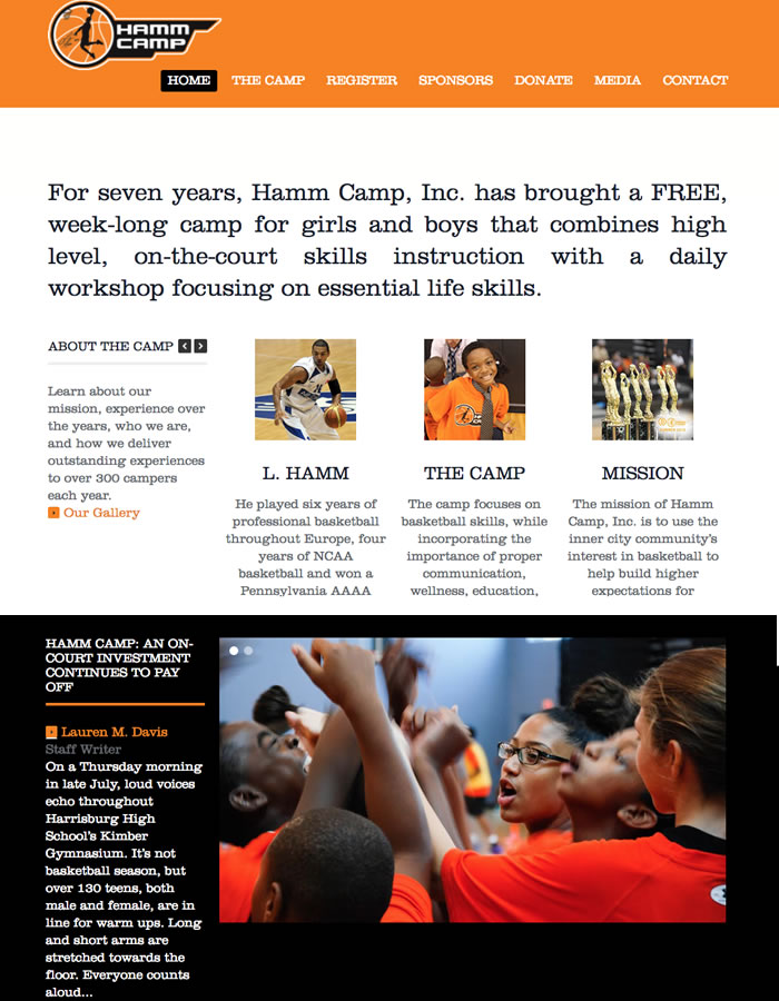 Lawrence Hamm's Basketball and Life Skills Camp